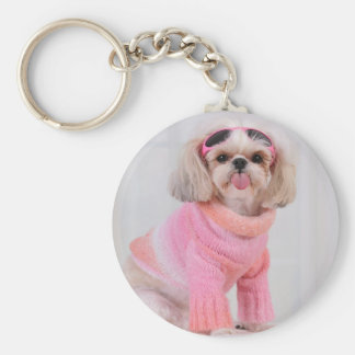 Shih Tzu Puppy - The Razz Key Ring