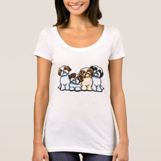 Shih Tzu Quartet T-Shirt