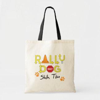 Shih Tzu Rally Dog Tote Bag