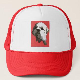 Shih Tzu (red) Trucker Hat