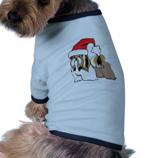 Shih Tzu Santa Dog Clothes