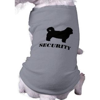 Shih Tzu Security Dog Sleeveless Dog Shirt