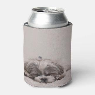 Shih tzu Sleeping Can Cooler, Sleeping Dog Can Cooler