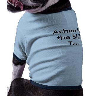 Shih Tzu Sneezes Pet Tee Shirt