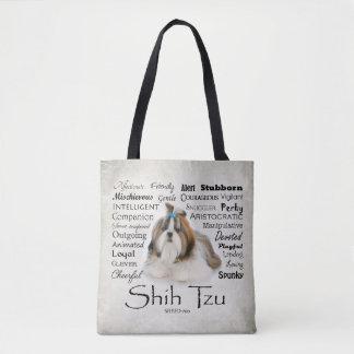Shih Tzu Traits Tote