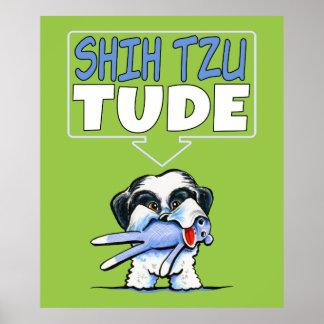 Shih Tzu Tude Dk Poster