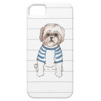 Shih Tzu Watercolor Iphone Case