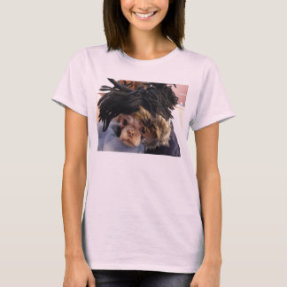 Shih Tzu with funny hat T-Shirt
