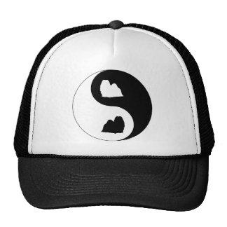 Shih Tzu Yin Yang Hats