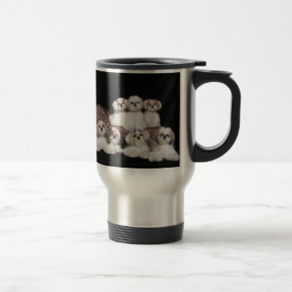 Shih Tzus Are Angels With Whiskers Travel Mug