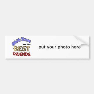 Shih Tzus Make The Best Friends Bumper Sticker