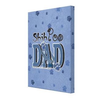 ShihPoo DAD Canvas Print