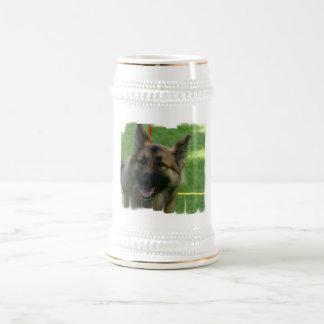 Shiloh Shepherd Beer Stein Coffee Mug