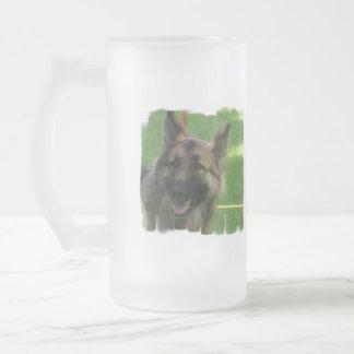 Shiloh Shepherd Frosted Beer Mug