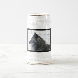 Shiloh Shepherd Profile Beer Stein Coffee Mugs