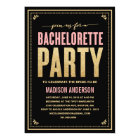 SHIMMER & SPARKLE | BACHELORETTE PARTY INVITATION