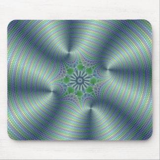 Shimmerine - Fractal Art Mouse Pad