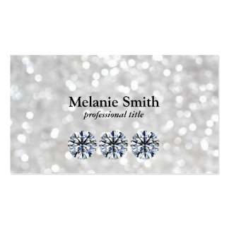 Shimmering 2 | Diamonds Pack Of Standard Business Cards