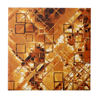 Shimmering and gleaming,golden tiles