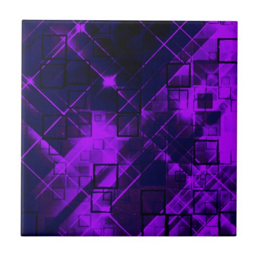 Shimmering and gleaming,purple ceramic tile