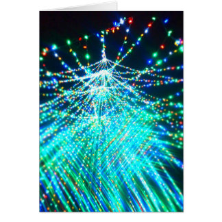 Shimmering Christmas Tree Card