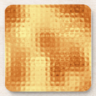 Shimmering Copper Coaster