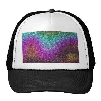 Shimmering gradients trucker hat