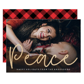 Shimmering Peace Photo Card
