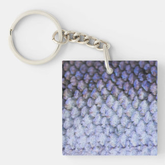 Shimmering Salmon Keychains