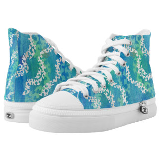 Shimmering Shoals on foot High Tops