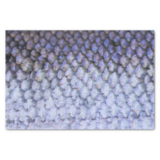 Shimmering Silver Salmon Tissue Paper