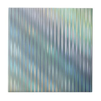 Shimmering Stripes Ceramic Tile
