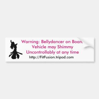 Shimmy Bumper Sticker