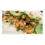 Shimp Tacos Limes Burritos Avocados Double-Sided Standard Business Cards (Pack Of 100)