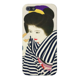 Shimura Tatsumi Five Figures of Modern Beauties Case For The iPhone 5