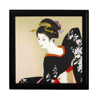 Shimura Tatsumi Two Subjects of Japanese Women Large Square Gift Box