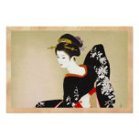 Shimura Tatsumi Two Subjects of Japanese Women Poster