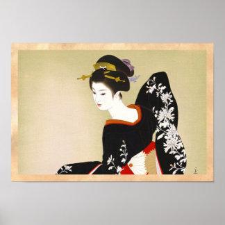 Shimura Tatsumi Two Subjects of Japanese Women Poster