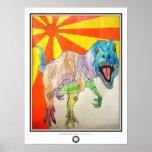 Shine-asaurus Poster