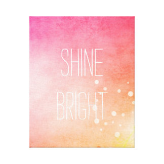Shine Bright Canvas Print