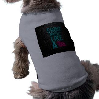 Shine Bright Doggie T Shirt