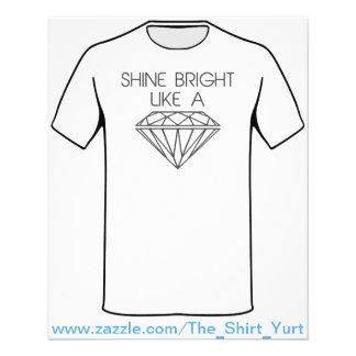 Shine Bright Like a Diamond 11.5 Cm X 14 Cm Flyer