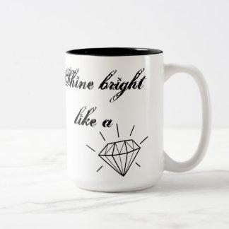 Shine Bright Two-Tone Coffee Mug