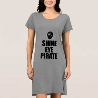 Shine Eye Pirate Eyepatch. Dark Text Dress