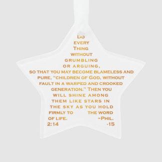 Shine Like Stars Acrylic Ornament