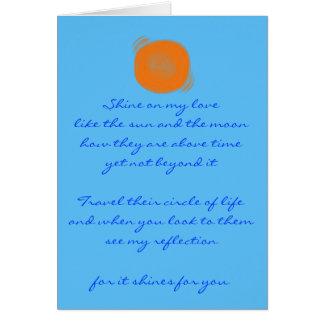 Shine Note Card