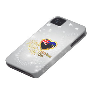 Shine On British Virgin Islands Case-Mate iPhone 4 Case