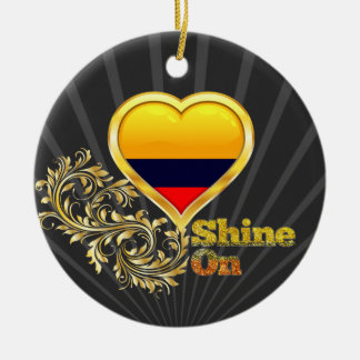 Shine On Colombia Ornaments