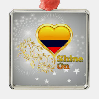 Shine On Colombia Christmas Tree Ornament