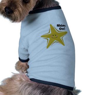 Shine On! Ringer Dog Shirt